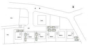 町田市木曽東 宅地造成(複数地権者協力)後 戸建て賃貸6棟活用
